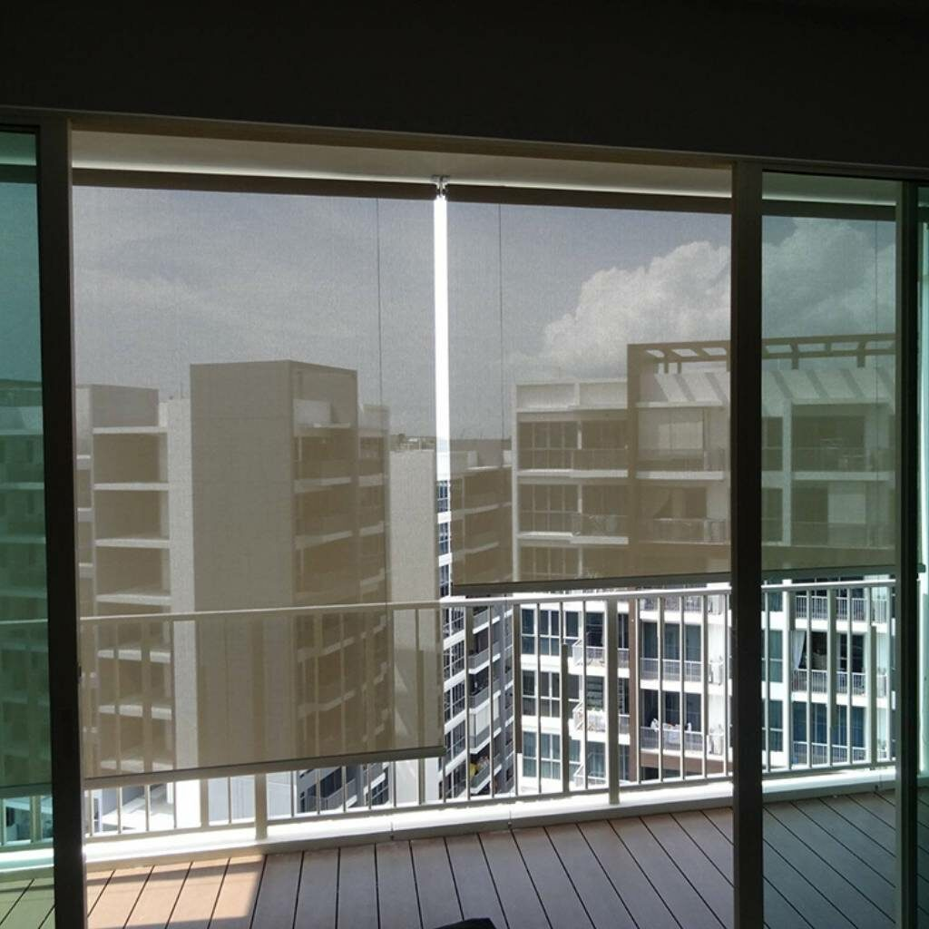 outdoor exterior blinds for balconies