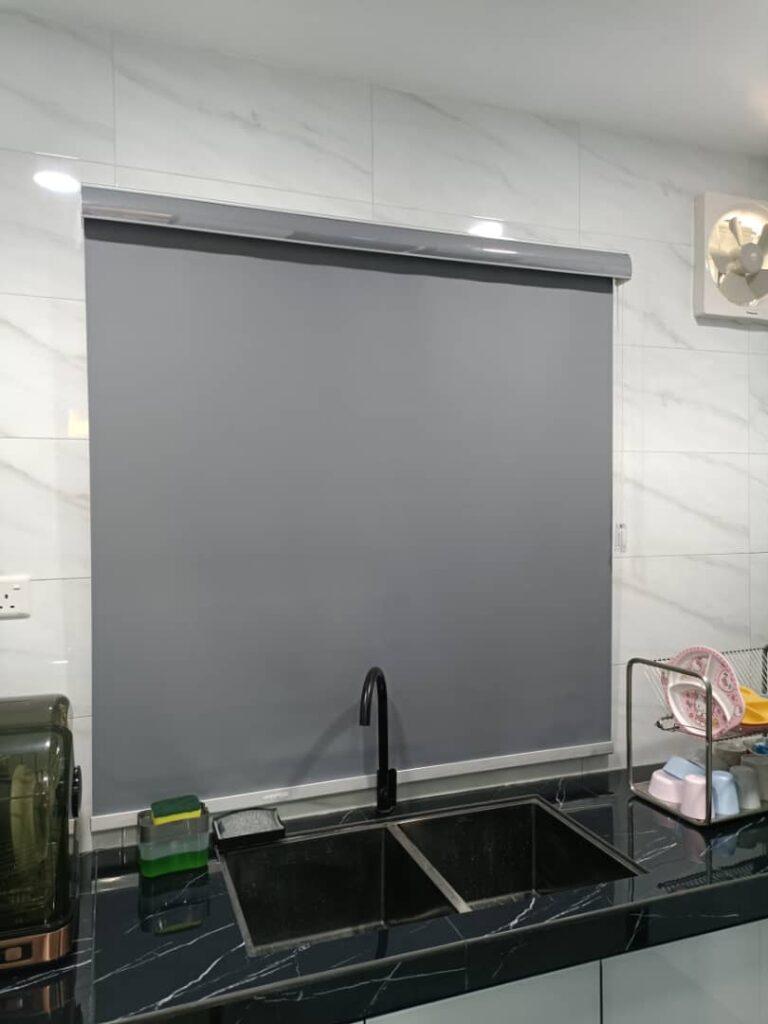blackout roller blinds for kitchen