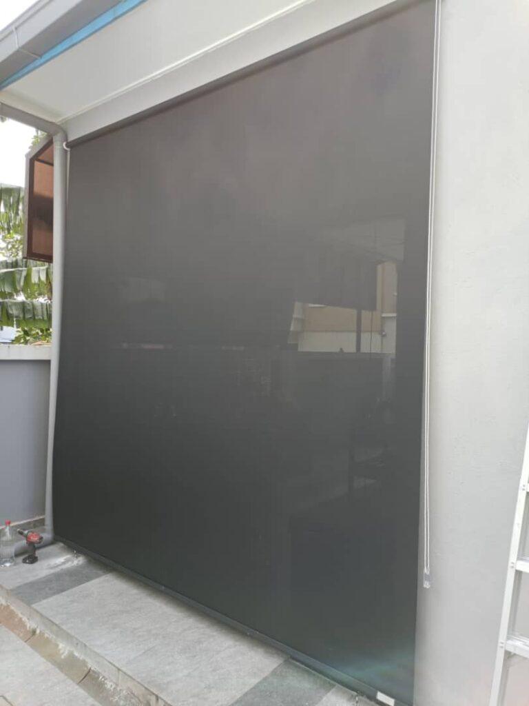 outdoor waterproof windproof blinds for patios