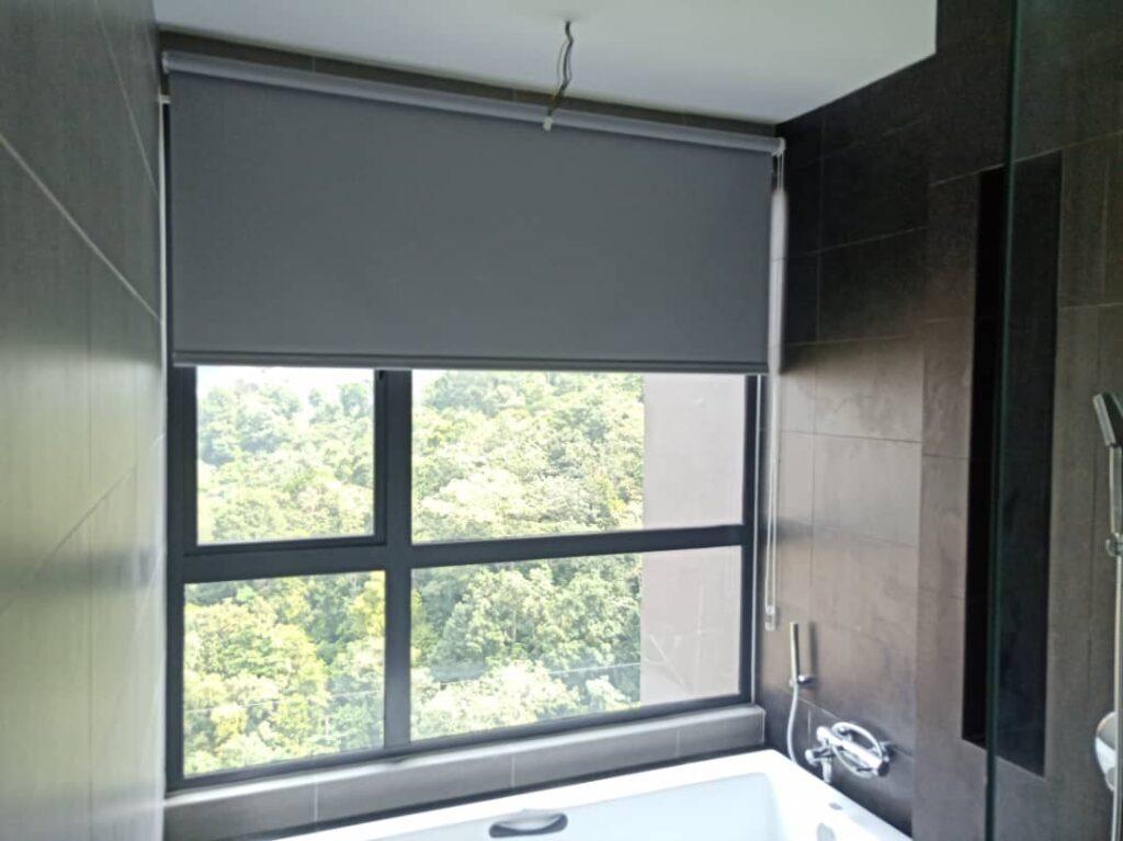 blackout roller blinds for bathroom