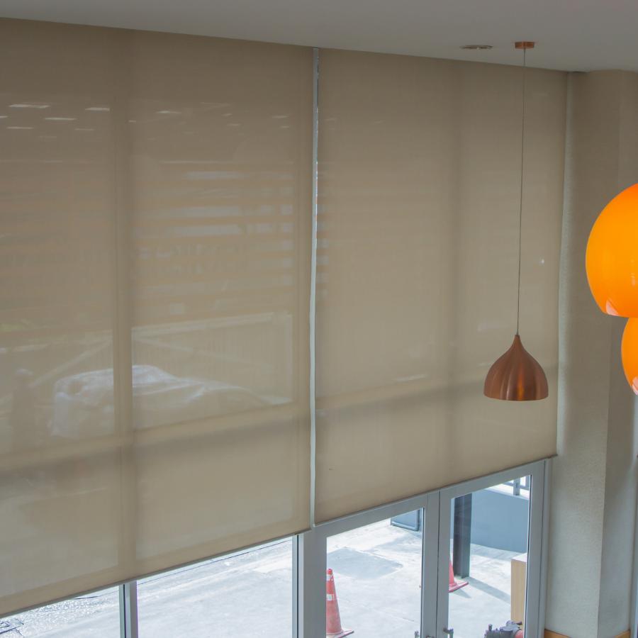 office sunscreen blinds