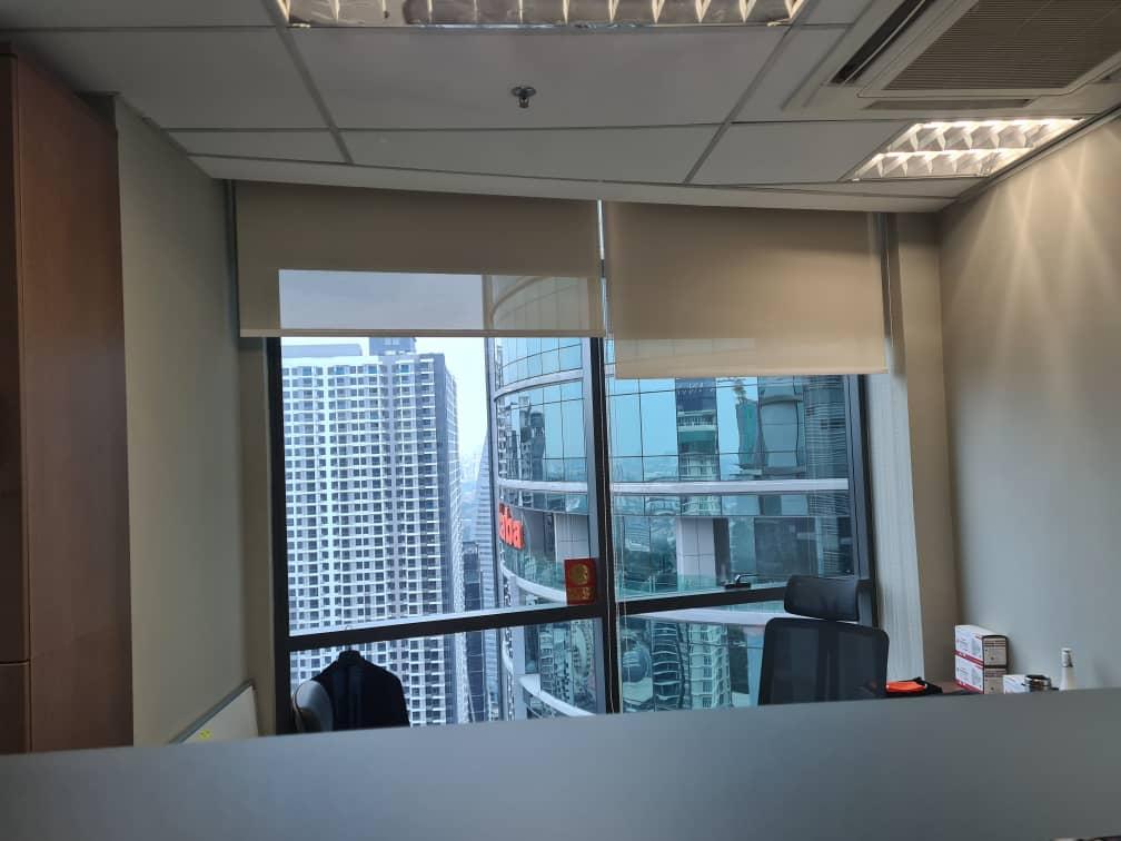 office windows roller blinds