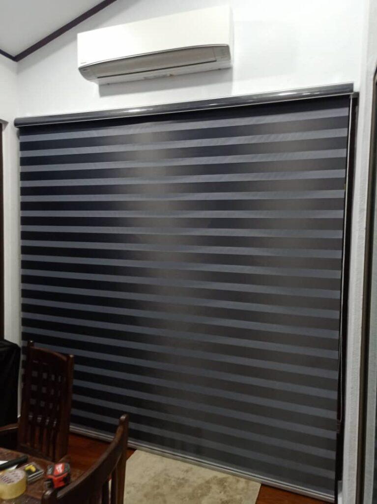 zebra blinds for living room