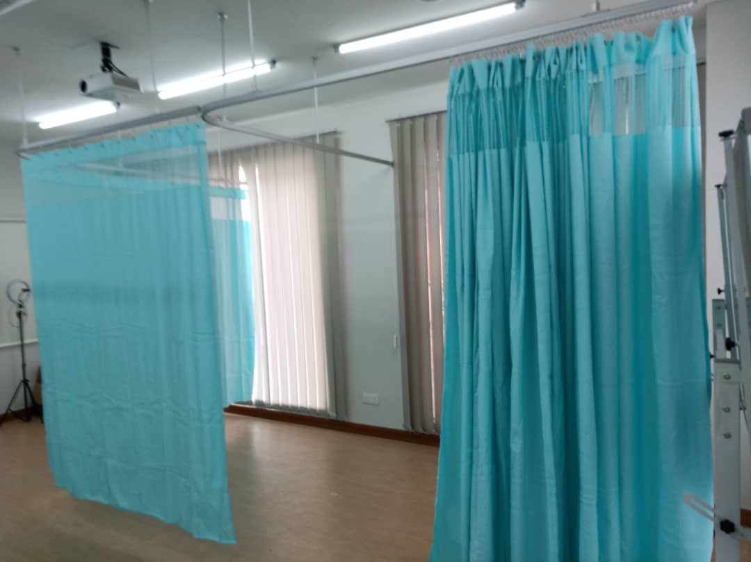hospital cubicle medical suspended curtain tracks