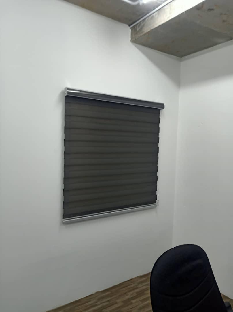 office zebra blinds