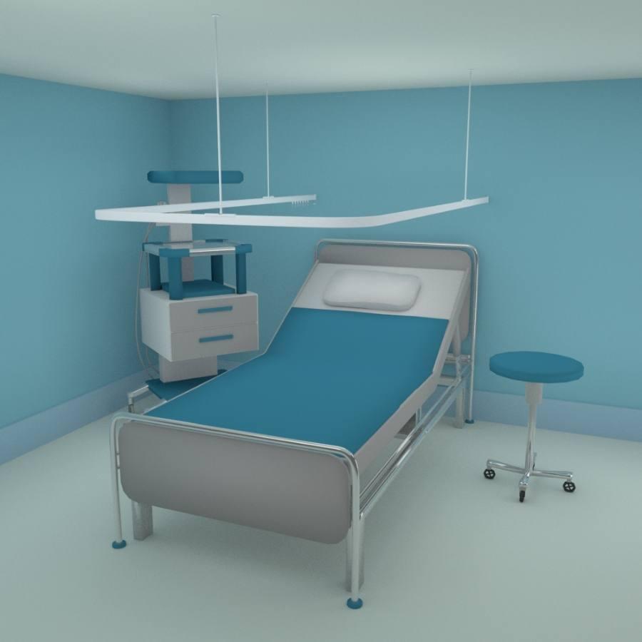 U shape hospital cubicle tracks