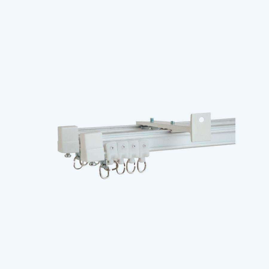curved flexible curtain rails